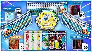 UNO: The 50 CARD Challenge!
