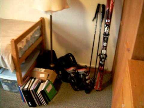 Cornell University Dorm tour- Typical Single Room at Cornell University
