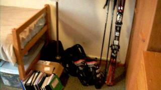 Cornell University Dorm tour- Typical Single Room at Cornell University