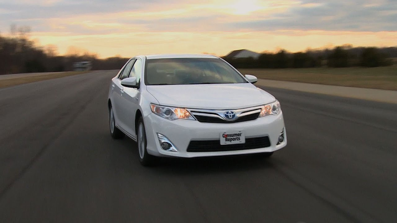 2012 2014 toyota camry hybrid consumer reports youtube. Black Bedroom Furniture Sets. Home Design Ideas