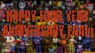 [FNAF\SFM] FNAF'S 4th Anniversary Special