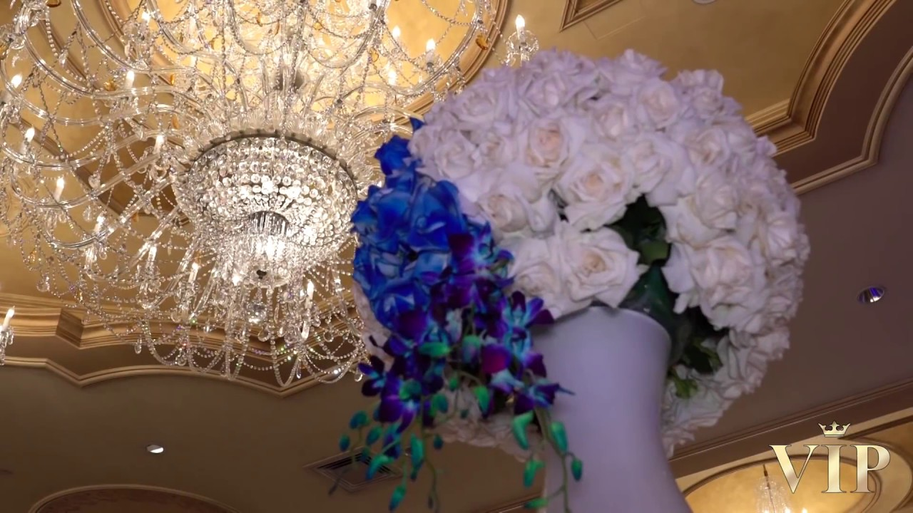 Blue Color Theme Wedding Royal Elite Palace Youtube