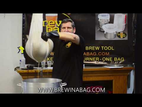 Squeezing The Brew Bag