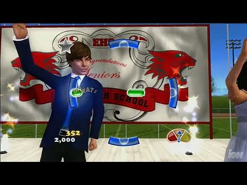 High School Musical 3: Senior Year Dance (Dance Pad Bundle) Xbox 360 Gameplay - High School Musical