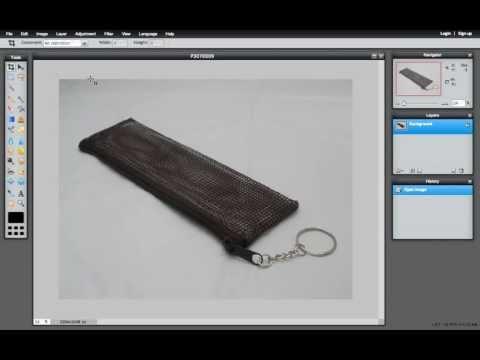 สอนใช้โปรแกรม Pixlr Editor แต่งภาพสินค้า