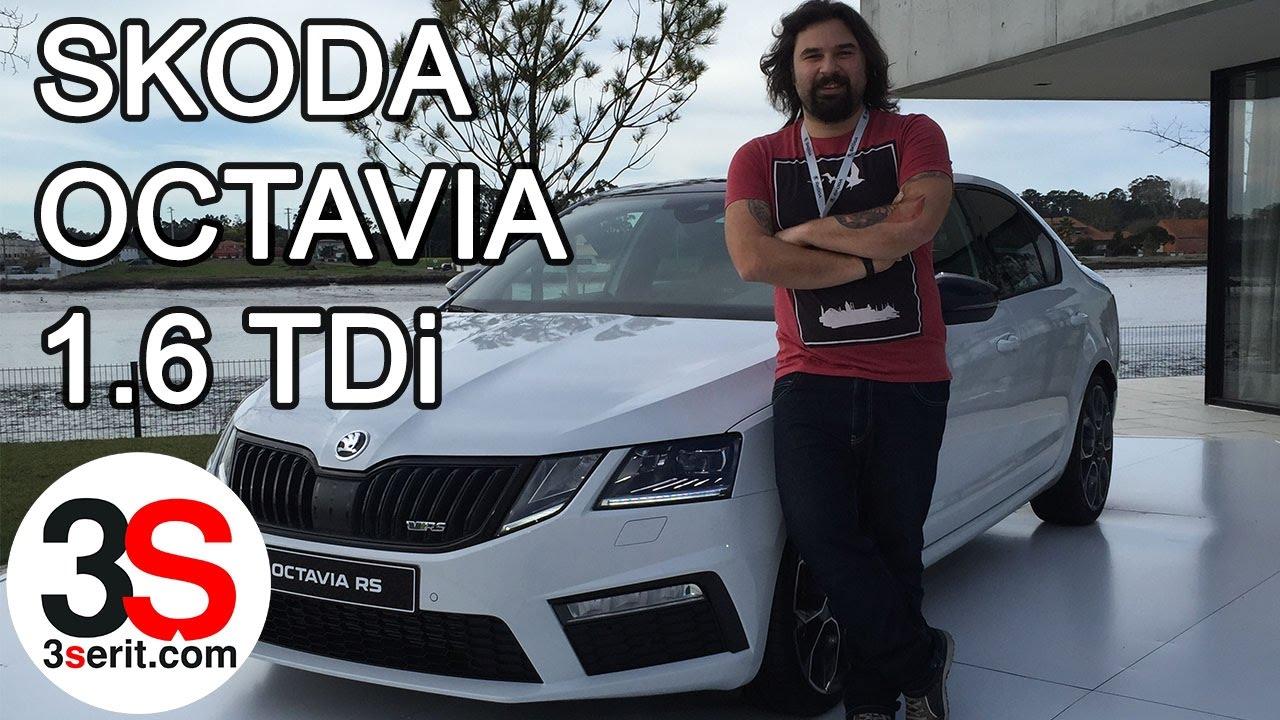 2017 Skoda Octavia 1.6 TDi Test Sürüşü, Porto