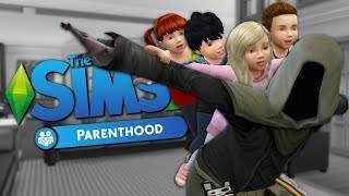 GRIM PARENTING - Sims 4 Funny Moments #1
