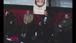Jim Carrey, Judd Apatow, Spike Jonze & Chris Smith perform John Cage 4′33″ after JIM & ANDY Q&A