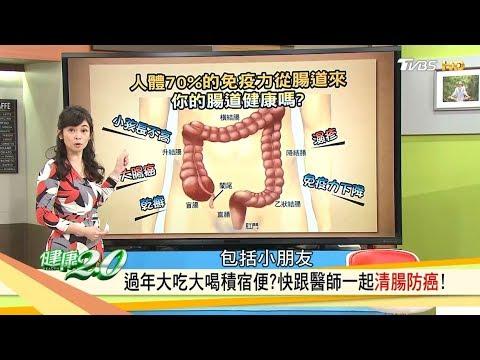 當心腸癌找上你!在家就能做的「宿便清腸法」跟著醫師這樣做防癌!健康2.0 (完整版)