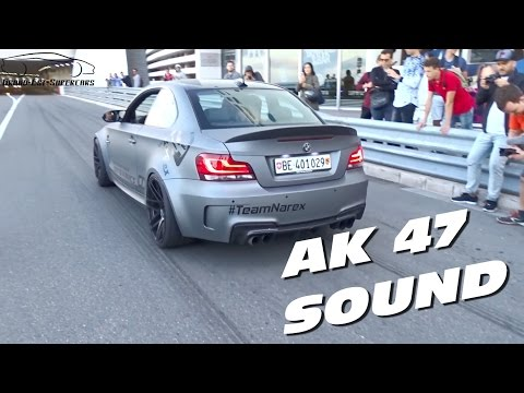 The LOUDEST BMW 1M AK47 Exhaust in Monaco !