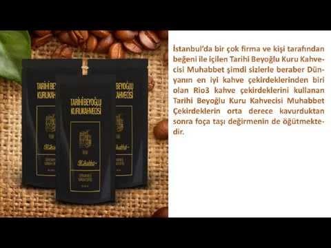 Tarihi Beyoğlu Kuru Kahvecisi Muhabbet