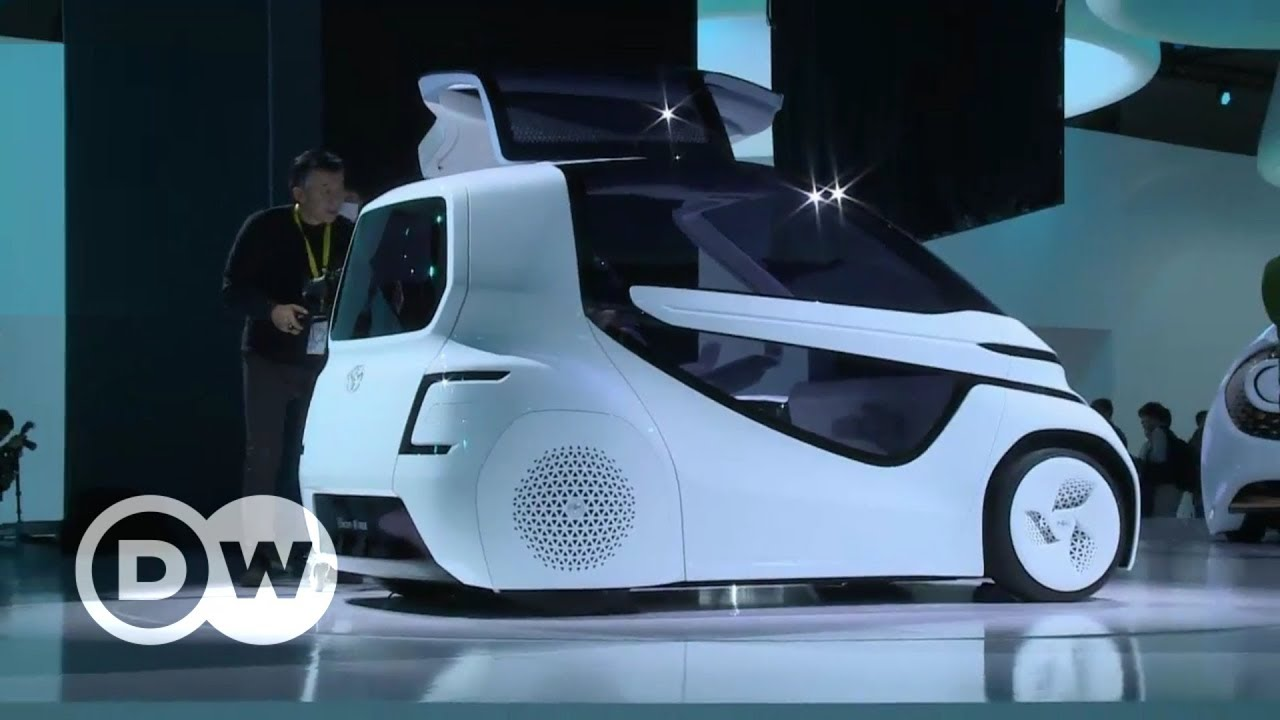 Futuristic Cars at Tokyo Motor Show | DW English