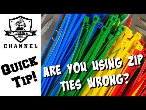 Zip Tie Tip