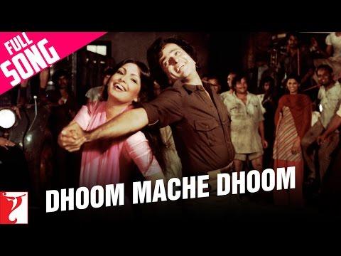 Dhoom Mache Dhoom - Full Song | Kaala Patthar | Shashi | Parveen | Lata Mangeshkar | Mahendra Kapoor