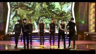 111002 - Infinite - Paradise (Comeback Stage) @ Inkigayo Special : Save The Green Earth Concert