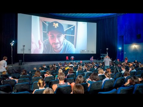 Darren Aronofsky - Q&A at Odessa International Film Festival 2014 (with audience)