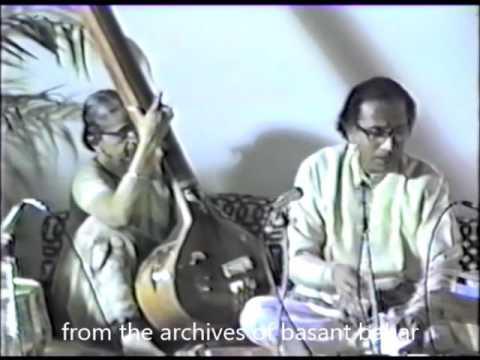 Pandit Dr. R.  Banerjee Ustad Surinder Mann Raga:  Puria Kalyan_Bageshree_Malkauns thumbnail