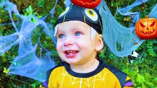 Kids Song Magic of Halloween | Halloween Song for Kids by Maya and Mary