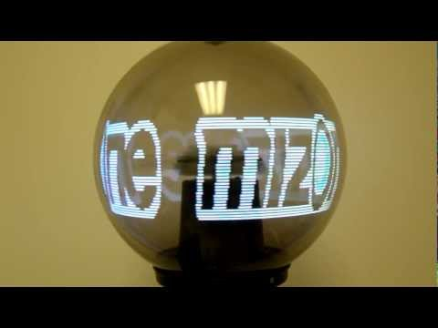 iBall Exhibitions Advertising Rotating spinning 3D 360 LED POV globe Display Ball digital signage