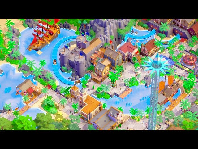 This Multiplayer Theme Park Building Simulator is Just An Absolute Good Time   Parkitect Multiplayer