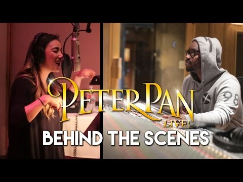 Behind The Scenes: Alex G, DJ Tay James and the cast of NBC's Peter Pan LIVE! #PeterPanLIVE