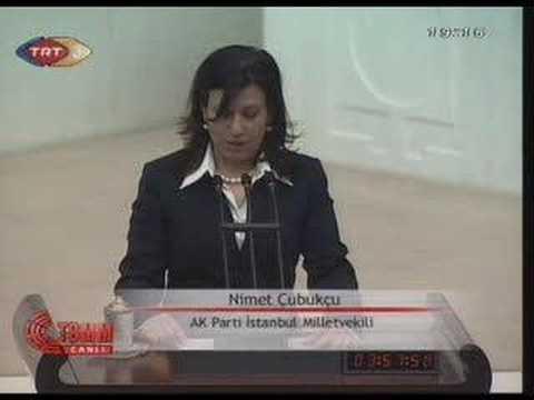 TBMM Yemin töreni 23 dönem Nimet çubukçu 2007