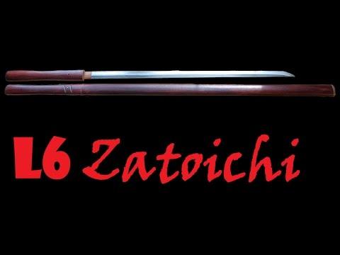 "Custom ""Blind Swordsmen Zatoichi"" L6 Sword by Howard Clark"