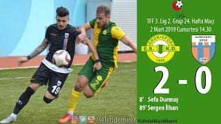 Gambar cover Esenler Erokspor 2-0 Alibeyköyspor (Maç özeti ve röportajlar)
