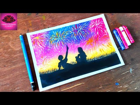 couple-celebration-happy-new-year-drawing-step-by-step(-very-easy)