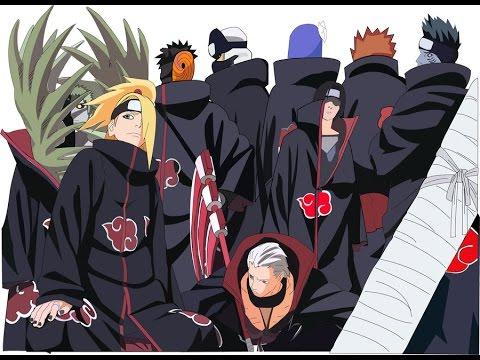 Naruto Shippuden - All Akatsuki Members | Eni - YouTube