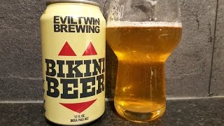 Evil Twin Bikini Beer By Evil Twin Brewing | American Craft Beer Review