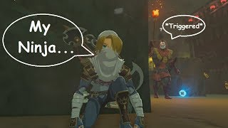 Sheik Link Takes on the Yiga Clan (Master Mode) Zelda BotW