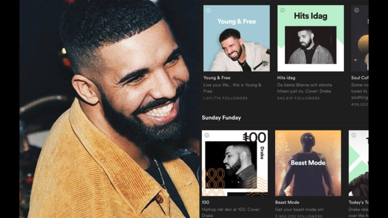 Drake CAUSES Spotify users to DEMAND REFUND, after seeing his FACE on ALL  PLAYLISTS