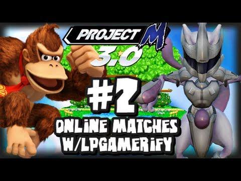 Super Smash Bros Brawl - Project M - Wifi Matches Vs LPGamerify
