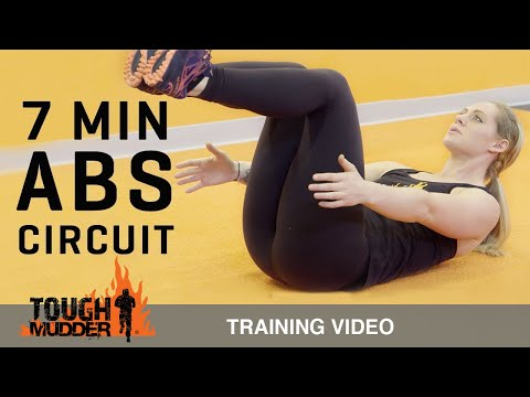 7 Minute Core Workout – No Equipment Needed