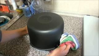 Как достать пирог из мультиварки Oursson.wmv