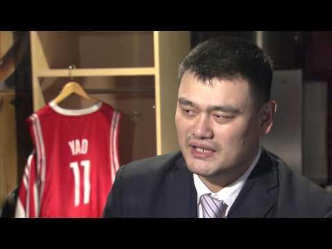 All-Access: Yao Ming Jersey Retirement