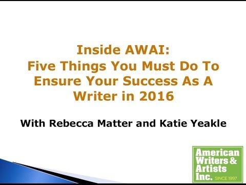 5 Things You Must Do To Ensure Copywriter Success: INSIDE AWAI