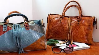8 лучших женских кожаных сумок/top women leather bags с AliExpress