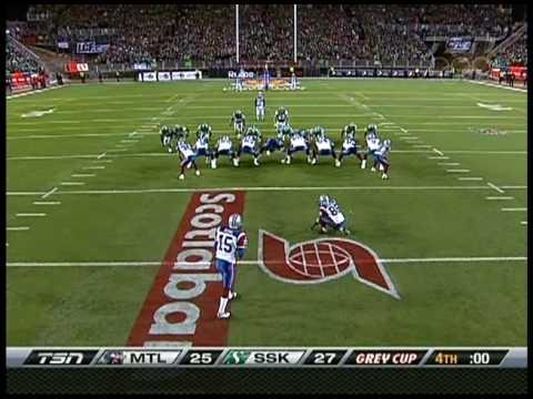 CFL 2009 Grey Cup: Montreal 28, Saskatchewan 27
