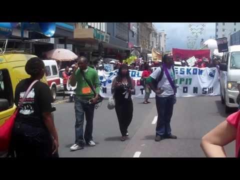 2011 Climate Change Protest Durban SA UN CLIMATE CHANGE CONFERENCE