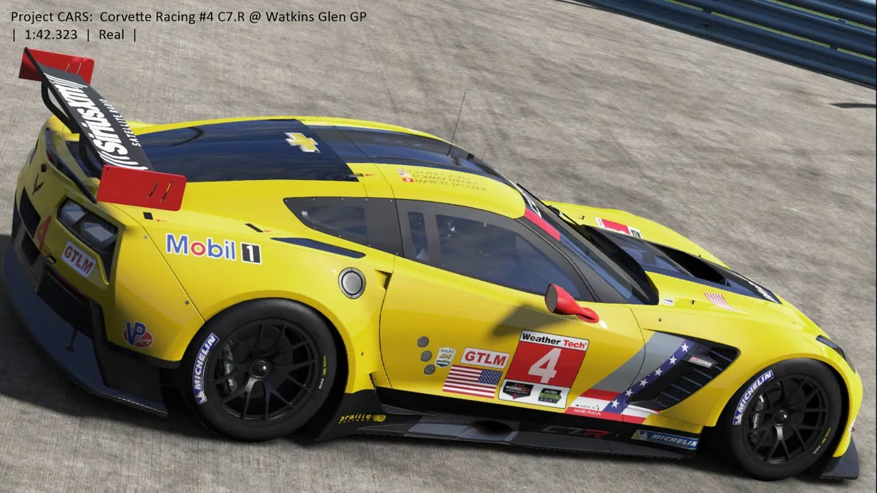 Project Cars Corvette Racing 4 C7 R Gte Watkins Glen Gp 1