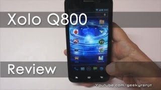 Xolo Q800 Budget Quad Core Android Phone Review