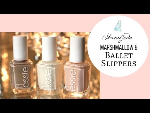 Nails | Marshmallow & Ballet Slippers | ShaneeJudee
