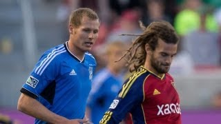 HIGHLIGHTS: Real Salt Lake vs San Jose Earthquakes | June 1, 2013