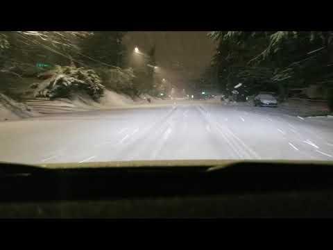 Driving My Tesla Model 3 Rwd In The Snow So Much For Polar Vortex Teslamotors