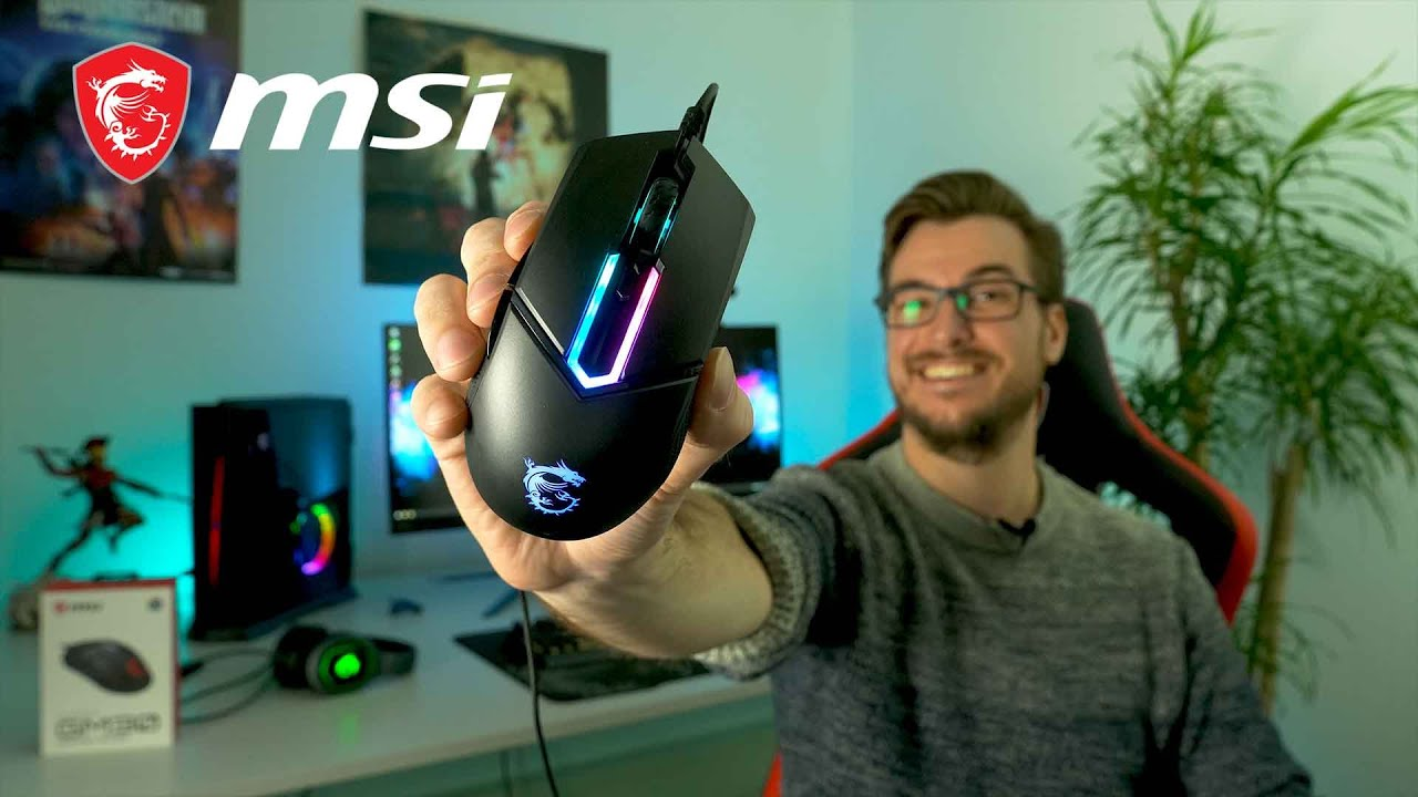 Clutch GM30 Gaming Mouse: Game with unrivaled comfort | Gaming Gear| MSI - YouTube