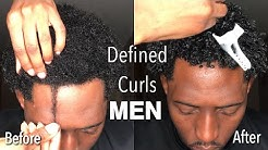 How to: Define Curls for MEN | Tight, Coily Type 4 Hair