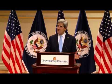 Secretary of State John F. Kerry Address at U.Va.