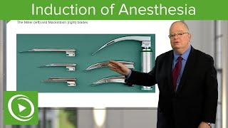 Induction of Anesthesia and Securing the Airways – Anesthesiology | Medical Education Videos